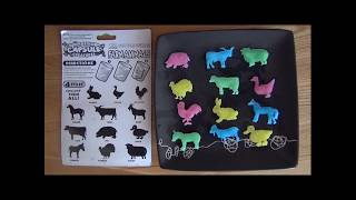Rozpoznawanie zwierząt gospodarstwa wiejskiego - zabawa z dziećmi