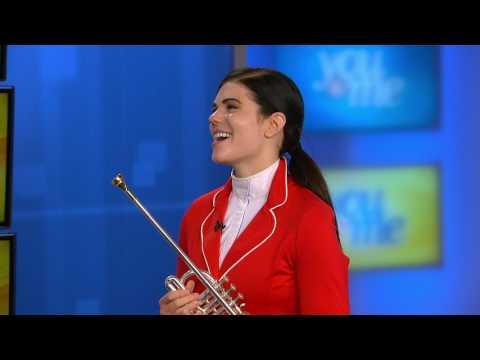 Meet Arlington Park's Bugler, Monica Benson!