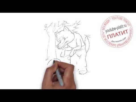 Учимся рисовать колобок  Рисуем сказку колобок
