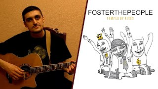 Скачать Foster The People Pumped Up Kicks Урок на гитаре видеоурок разбор аккорды табы бой кавер