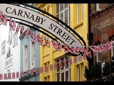 Shopping Areas In London - Carnaby Street Video Guide