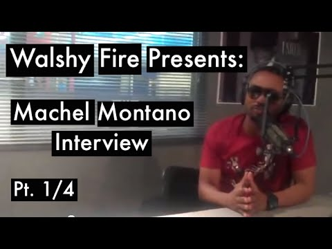 Machel Montano Interview (Pt. 1/4)   Walshy Fire Presents
