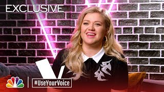 The Voice 2018 - Kelly Clarkson on Her Mom (#UseYourVoice)