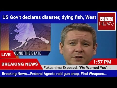 US Gov't declares disaster over diseased and dying fish on West Coast.