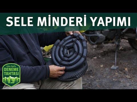 NASIL YAPILIR / MOTOSİKLET SELE MİNDERİ / HASAN YAPICI / DENEME TAHTASI