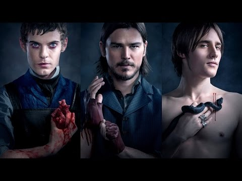 Penny Dreadful: Josh Hartnett, Reeve Carney, Harry Treadaway Season 2   Comic Con 2014