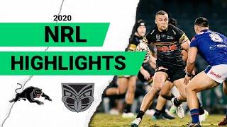 Panthers v Warriors Match Highlights   Round 4 2020   Telstra Premiership   NRL