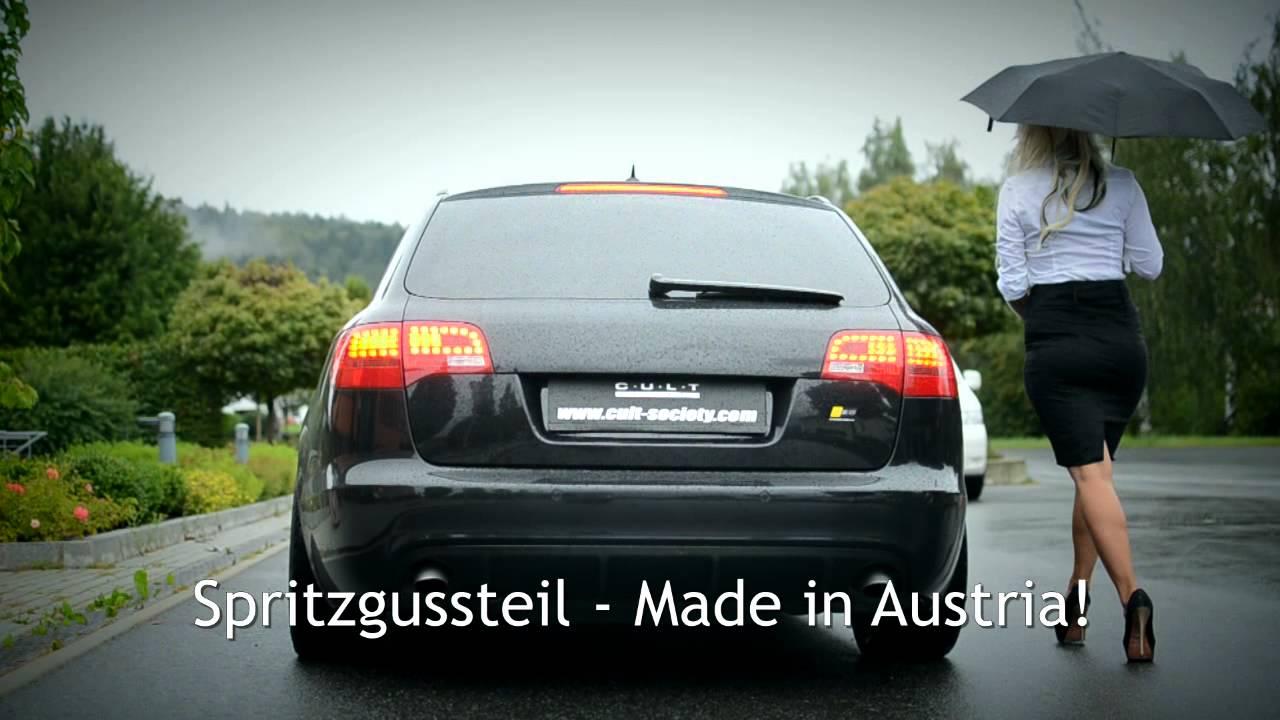Cult Society Audi A6 Heckblende Heckdiffusor Im Audi Rs 6