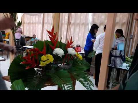 6 วิธีการจัดดอกไม้ สำหรับงานศพ