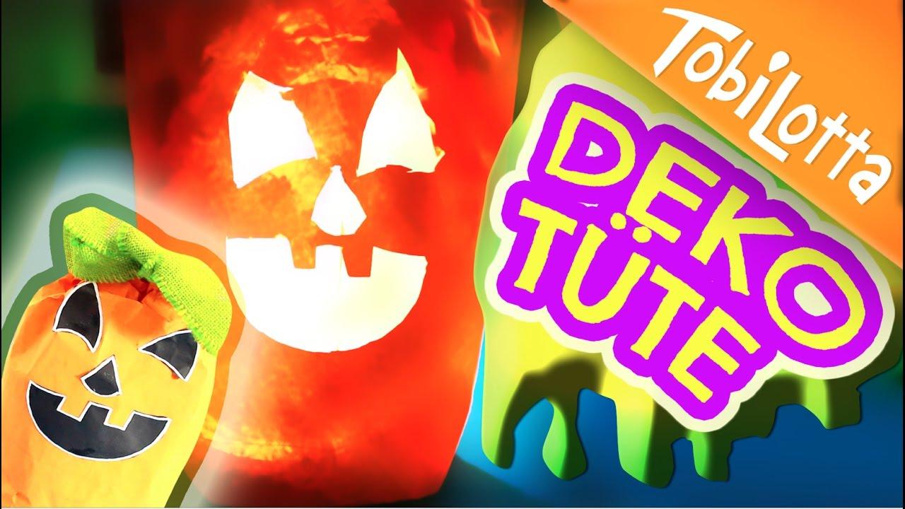 Halloween Bastelideen Youtube.Halloween Deko Tute Halloween Diy Deutsch Bastelvideo Kindervideo Tobilotta 58 Youtube