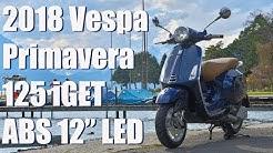2018 Vespa Primavera 125 iGet ABS | Fahrbericht & Vorstellung