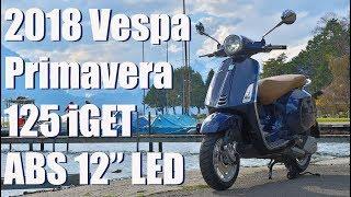 2018 Vespa Primavera 125 iGet ABS