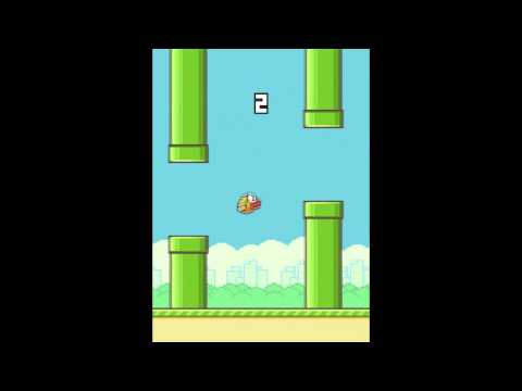 Flappy Bird: World Record: TWO PIPES!!!!!!