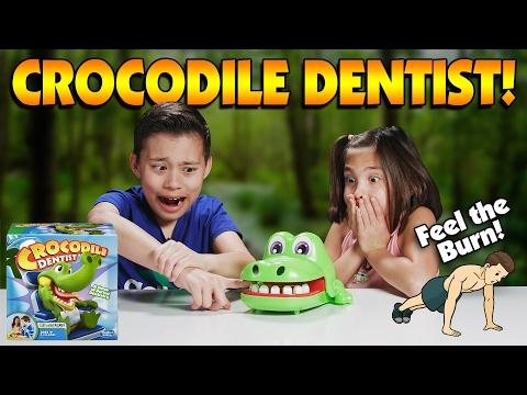 crocodile-dentist-workout-challenge!!!-be-fit-&-don't-get-bit!