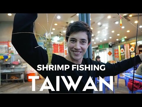 WHAT TO DO IN TAIWAN: Urban Shrimp Fishing In Taipei 釣蝦