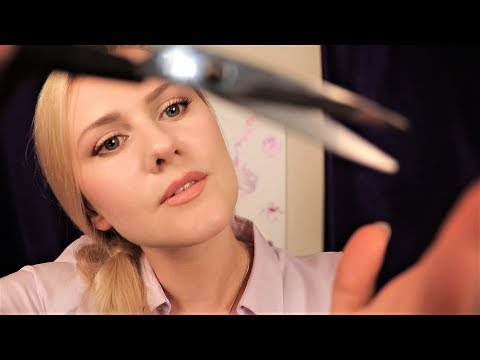 ✂️ Sleep-inducing Haircut 💇 ASMR | Shampoo | Page Flipping | Scissors