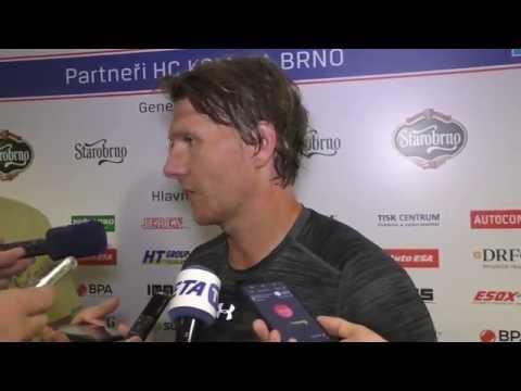 Chci se hokejem bavit, hlásí Martin Erat po prvním tréninku v Brně