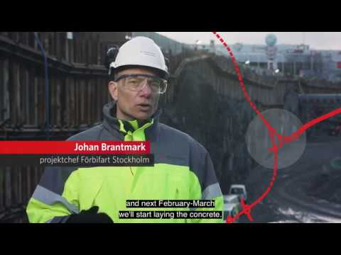 Progress report for E4 The Stockholm bypass Project, decembe