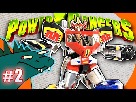 Megazord Power Rangers Soul of Chogokin GX-72 Review PART 2