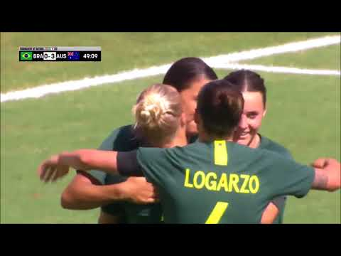 2018 Tournament of Nations Australia vs Brazil //Highlights