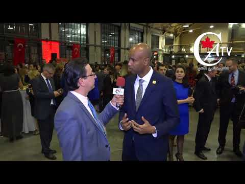Canadian Immigration Minister Ahmad Hussein