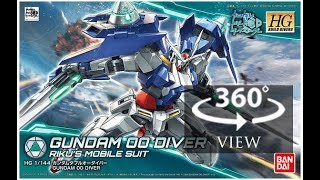 [360°Degree] HG 1/144 Gundam 00 Diver