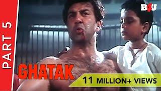 Ghatak | Part 5 | Sunny Deol, Meenakshi Seshadri, Danny Denzongpa | B4U Mini Theatre