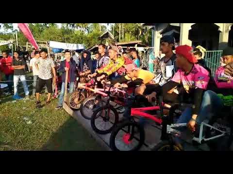 Turnamen balap sepeda dengan Jump tertinggi dan terextrime kab.Bengkalis