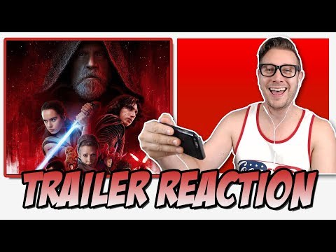 Star Wars: The Last Jedi Trailer (Official) Reaction (Episode 8)