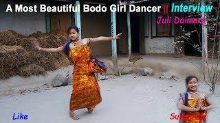 Beautiful Bodo girl Dancer Juli Daimary || New HD Bodo Video 2018
