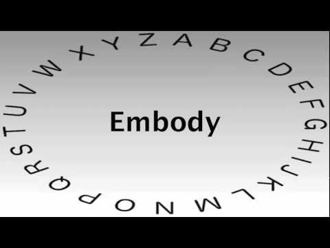Elegant Embody Definition