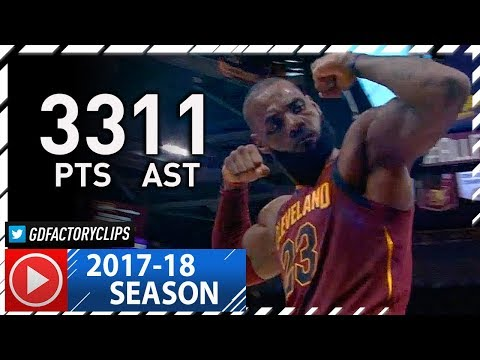 LeBron James Full Highlights vs Pacers (2017.11.01) - 33 Pts, 11 Ast, 6 Reb