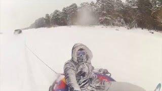 Экстремальные катания на тюбинге и сноуборде