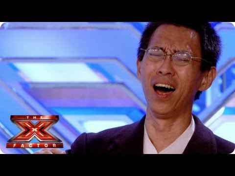 Meet James Nakasan - Auditions Week 3 - The Xtra Factor 2013