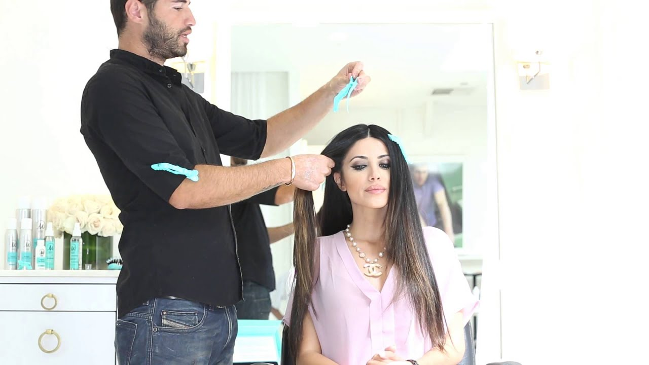 Leyla Milani And Alen M Straight Hair Tutorial Youtube