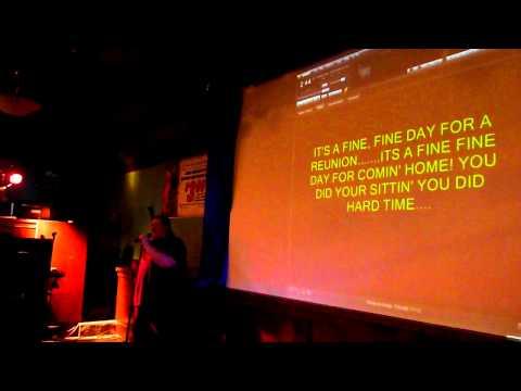 "Ace singing ""A Fine, Fine Day"" by Tony Carey c. 1984 @ Brewskis in Rockford, Il. 2/18/2011"