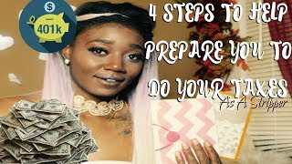 4 Step To Help You To Do Your Taxes As A Stripper// STRIPPER DIARIES