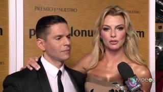 Marjorie de Sousa se vistió de Venezuela junto Rodner Figueroa en el