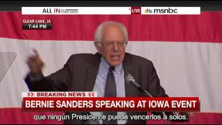 Bernie Sanders : Let Me Tell You Something ( Spanish subtitles / Subtitulado en Español )