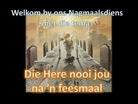 2018-02-11 Die HERE nooi jou na n Feesmaal Ds Hannes van der Merwe