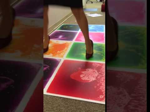 Liquid Floor Tile Hopscotch