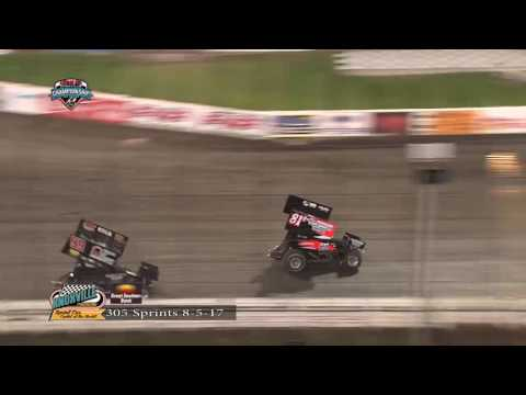 Knoxville Raceway 305 Highlights - August 5, 2017