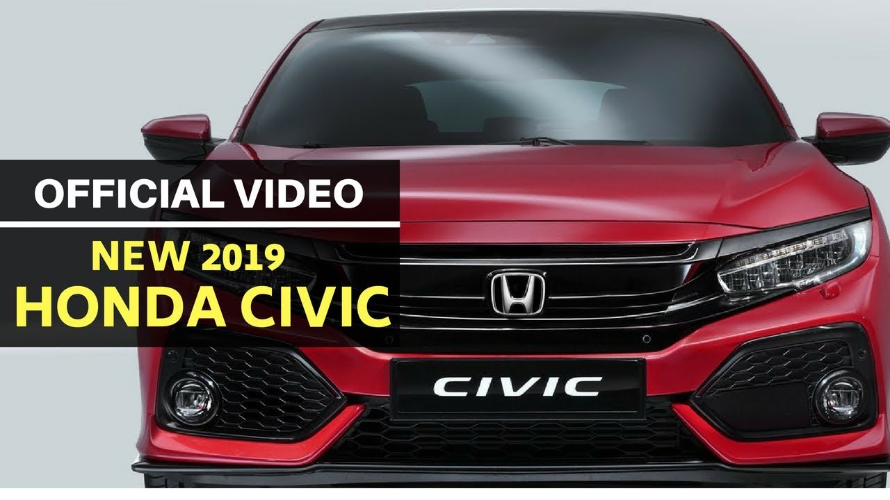 This Is The New 2019 Honda Civic For India First Look Youtube