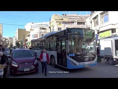 Buses in Amman, Jordan 2020 باصات في عمان