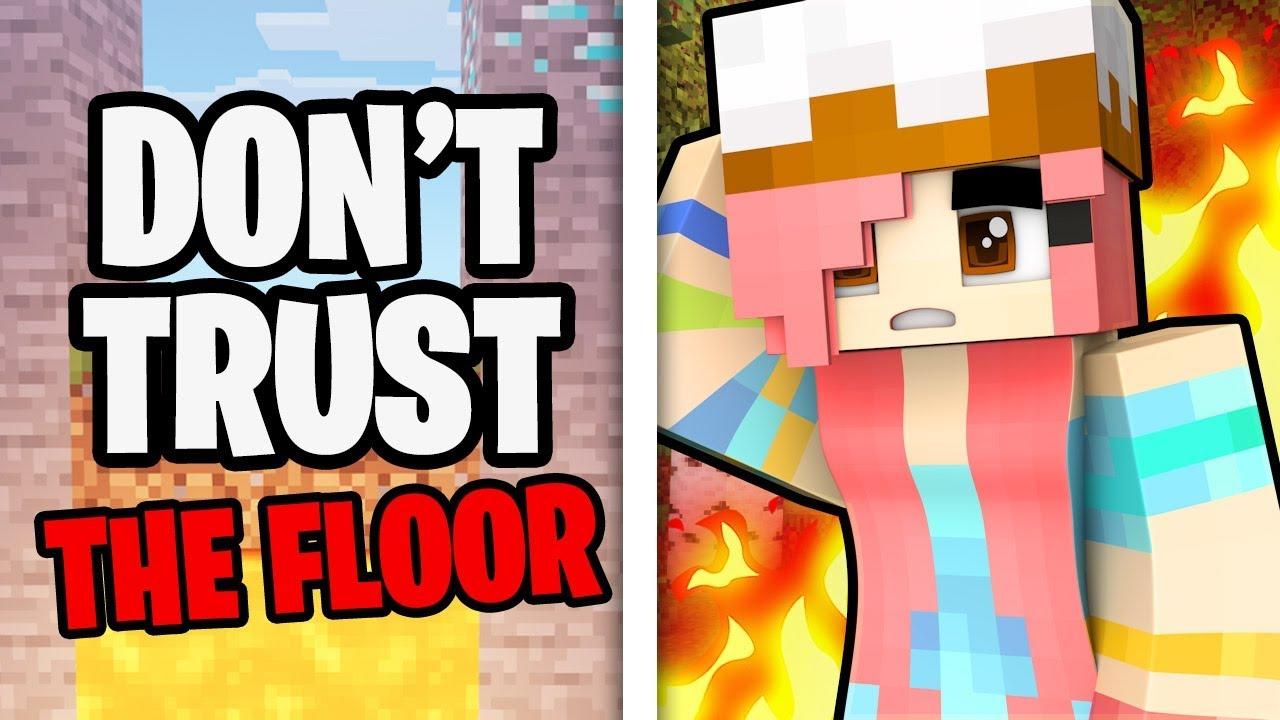 Don't trust the floor in Minecraft!
