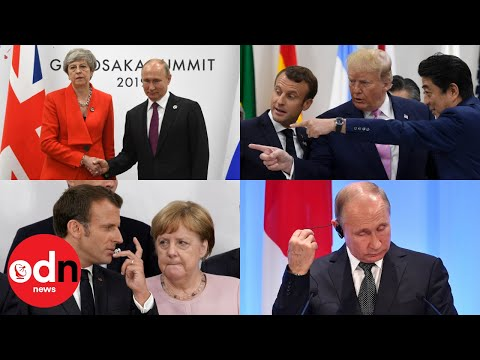 Top 10 awkward moments from the G20 that will make you cringe