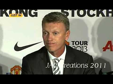 David Moyes First Press Conference As Man United Manager - Rooney Not For Sale No Transfer Announc