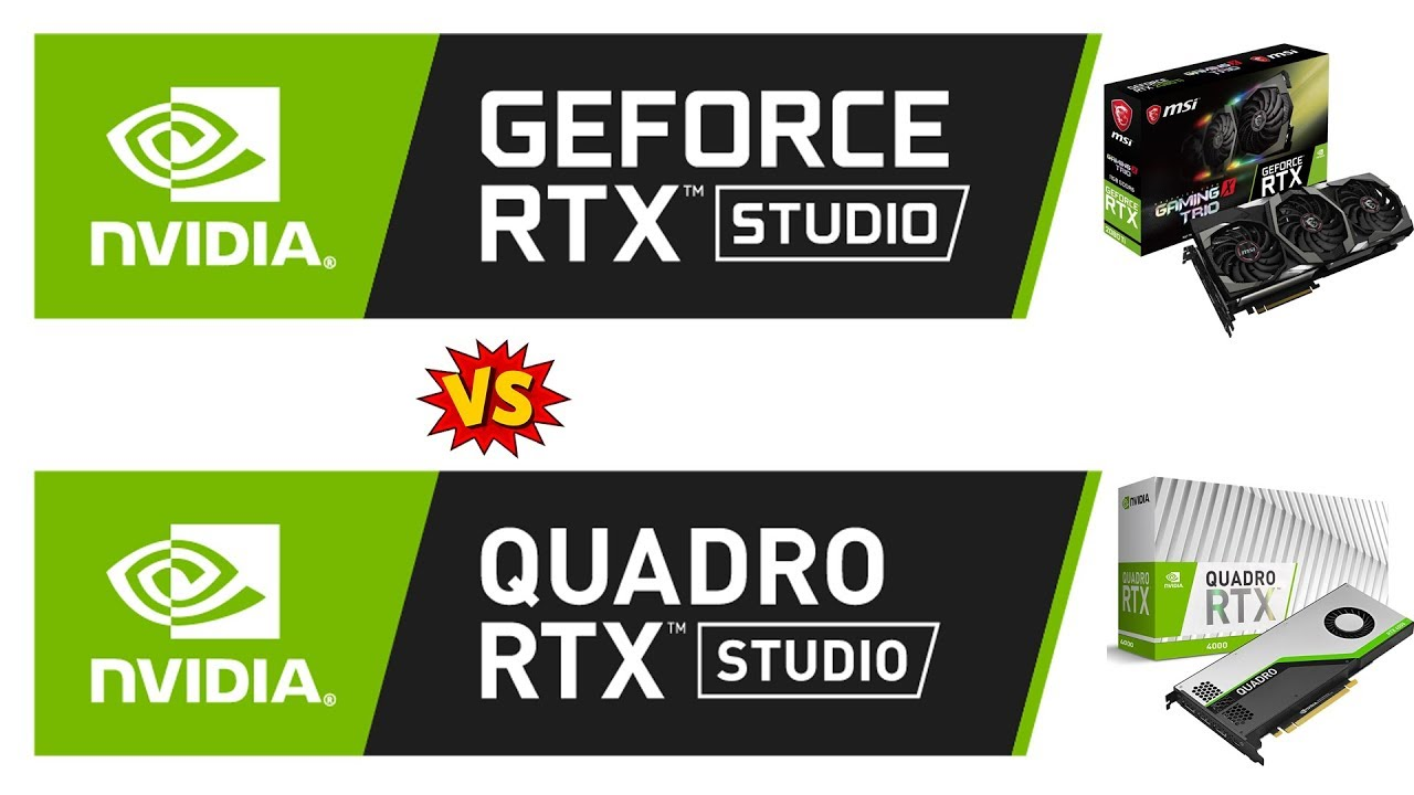 Geforce vs Quadro for 3D Animation and VFX work