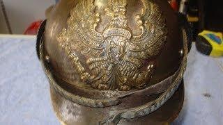 PICKELHAUBE GERMAN PREUßEN WW1 IMPERIAL Spiked Helmet Stahlhelm HELM DEUTSCHLAND