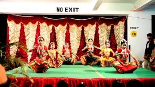 Bharatanatyam - Pranamya Shirasa Devam [HD] (Student Performance)